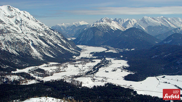 mountainous region of Seefeld, Austria